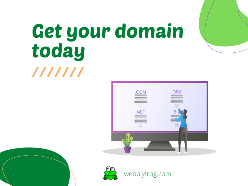 Get your domain today