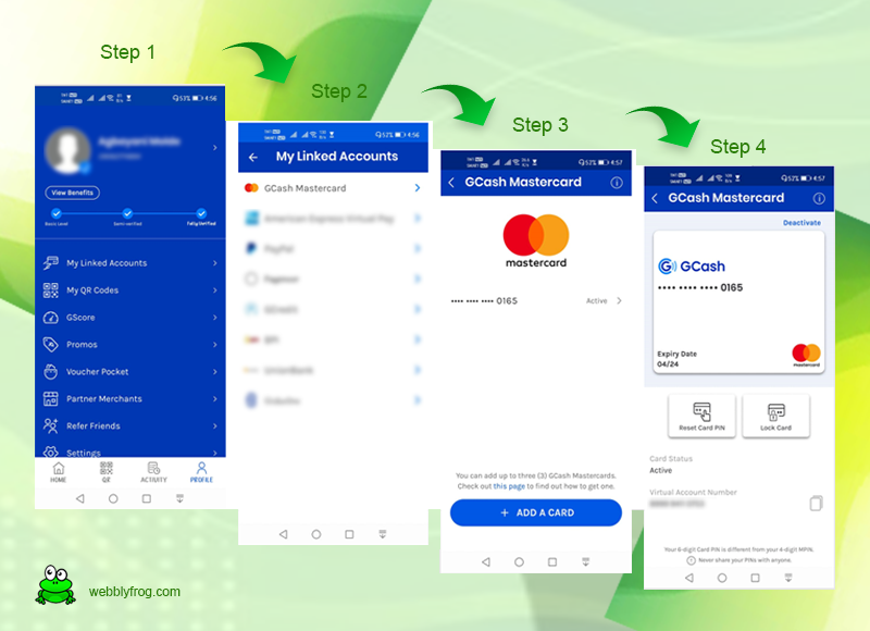 how to change pin for gcash app